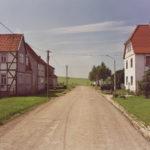 Johannes Bruns. Eichsfeld-Landschaft. In Kaltohmfeld. 1998.