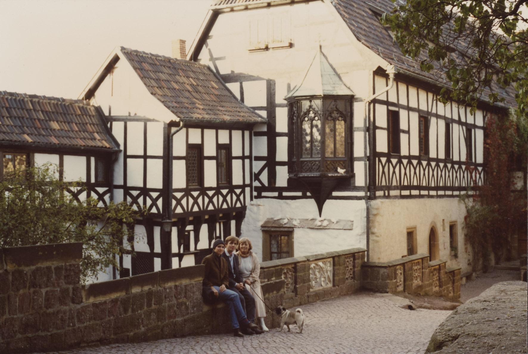 Willy Gursky. Eisenach. Familienausflug. 05.11.1989.