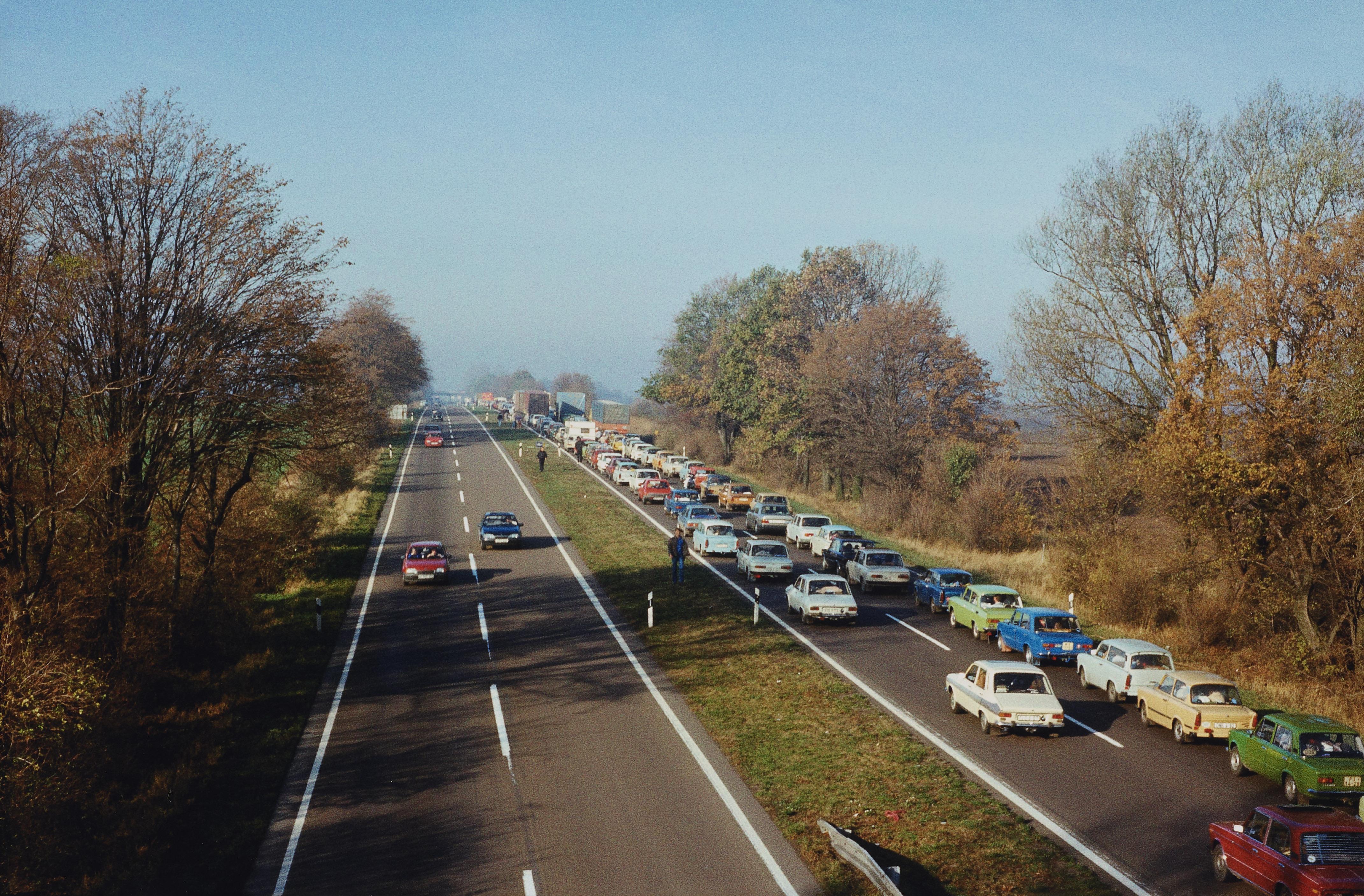 Günter Heinrich Müller. Ebendorf bei Magdeburg, Bab 2. 11.11.1989.