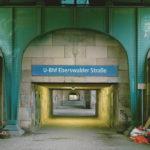 Rudolf Schäfer. Berlin U-Bahnhof Eberswalder Straße. 1999.