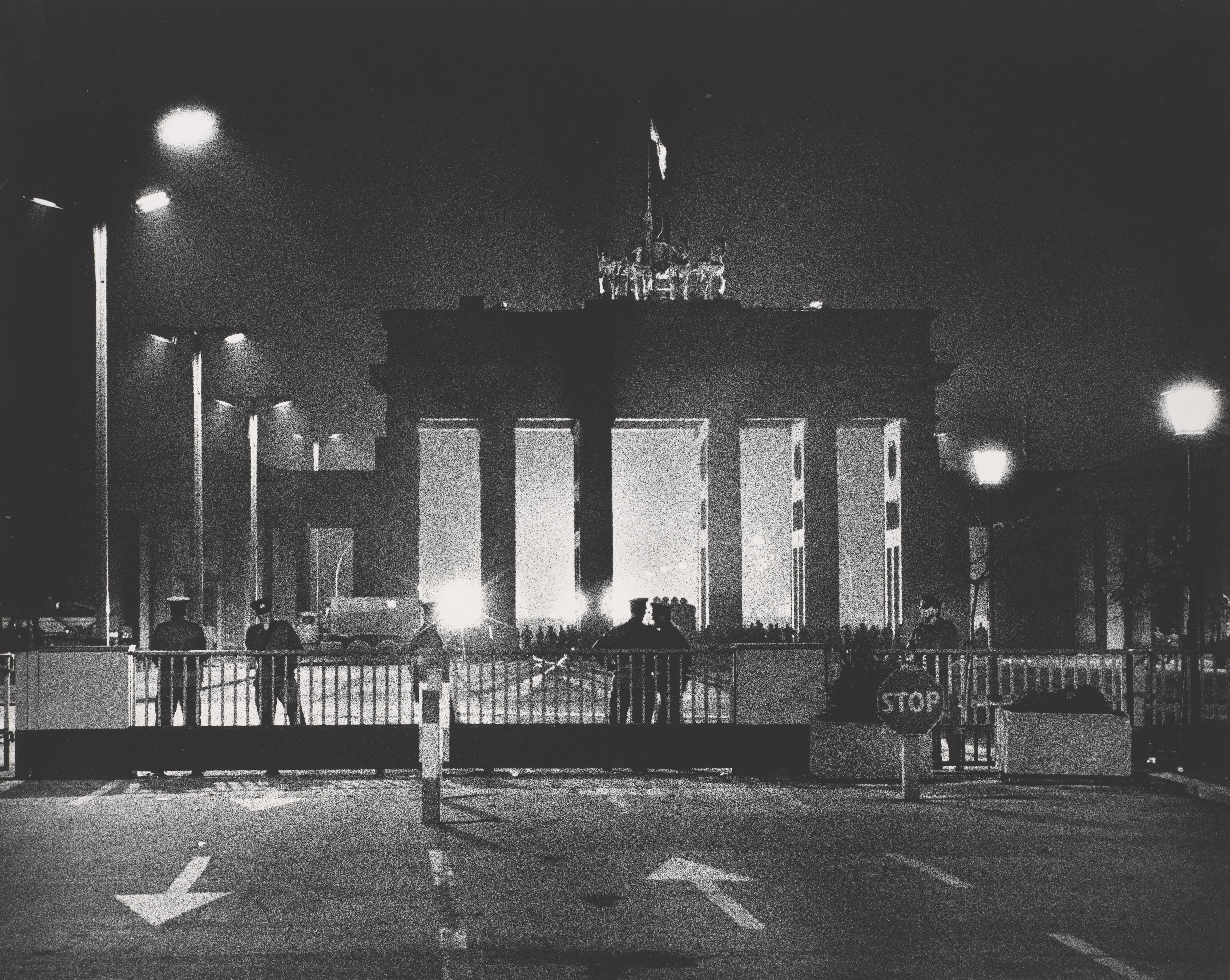 Regina Schmeken. Berlin 001. 10.11.1989.