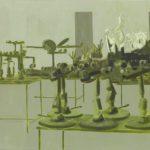 Tom Fabritius. Saal. 1999.