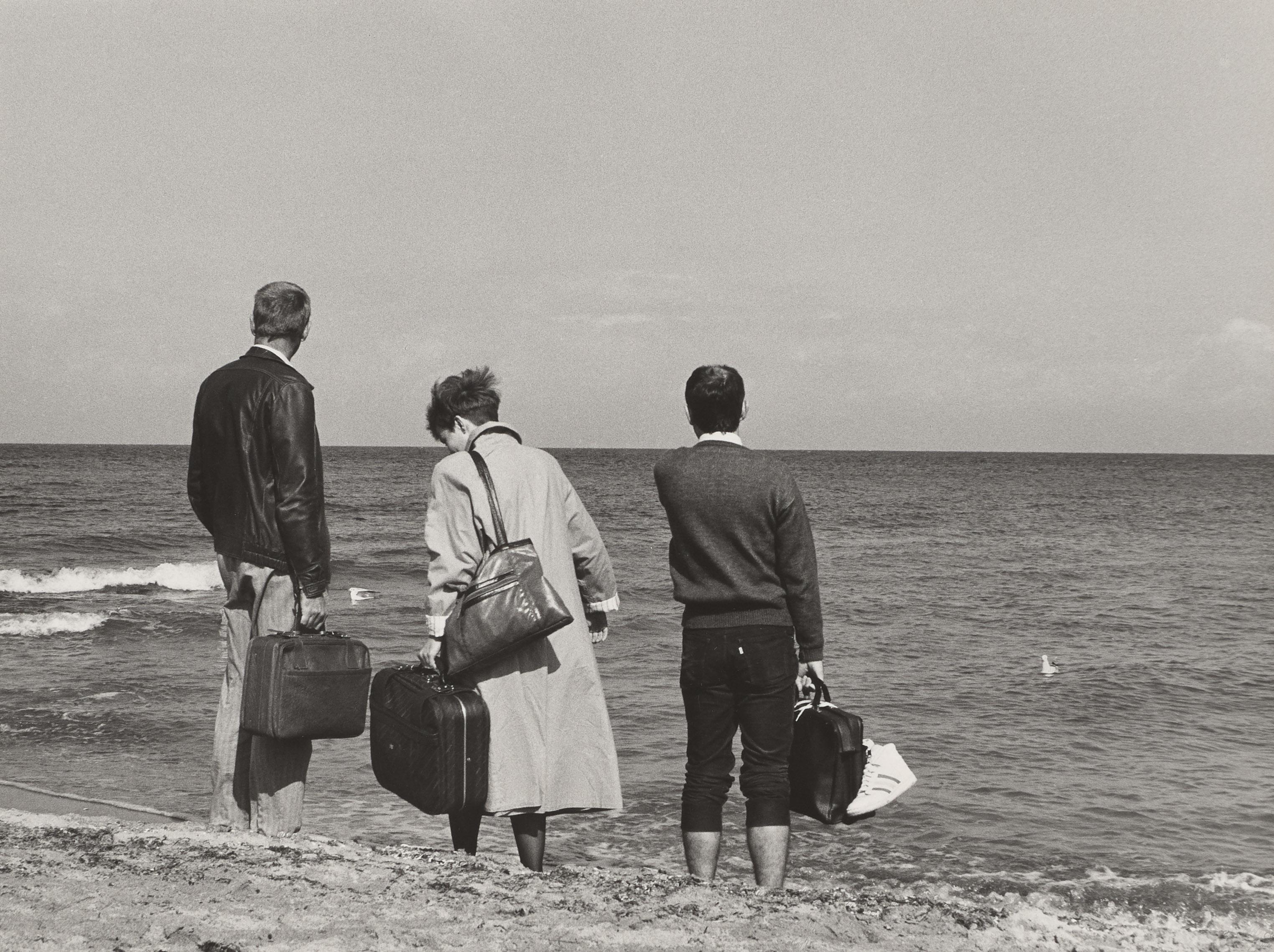 Ulrich Wüst. Kühlungsborn an der Ostsee. 1989.
