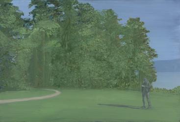 Peter Busch. Im Park. 2007.