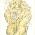 Bruno Griesel. Trois Hommes. 2001. © VG Bild-Kunst, Bonn 2020