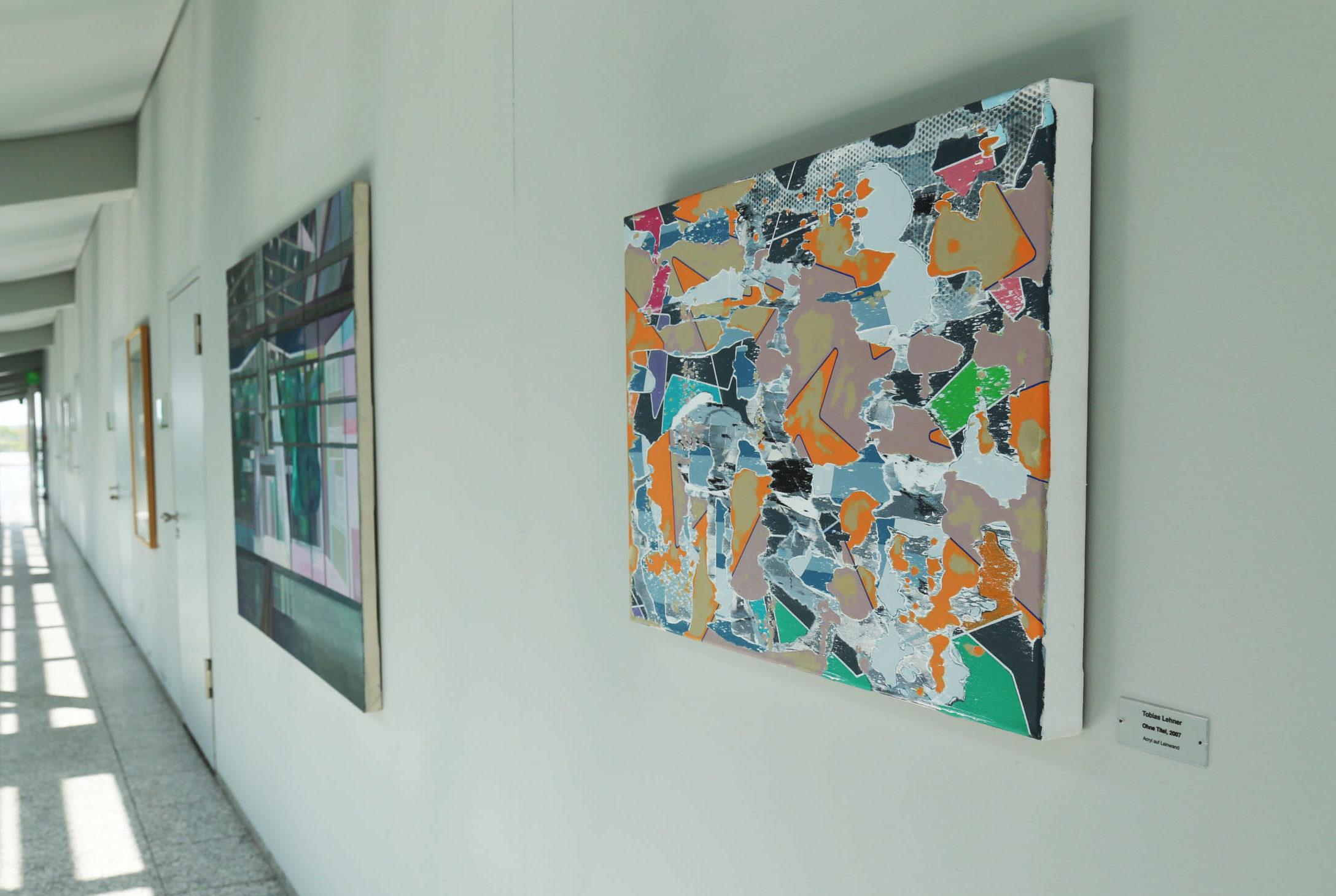 Blick auf das Werk von Tobias Lehner: ohne Titel