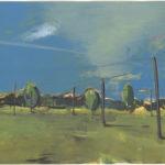 Matthias Weischer. Landschaft I. 1999. © VG Bild-Kunst, Bonn 2020