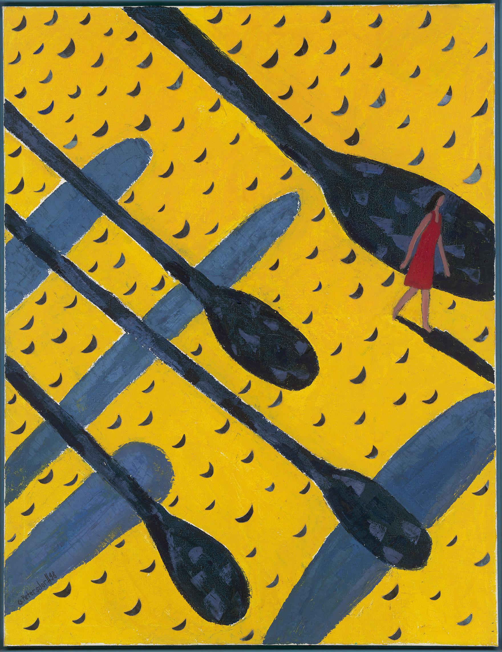 Gudrun Petersdorff. Der Traum (3). 1998.